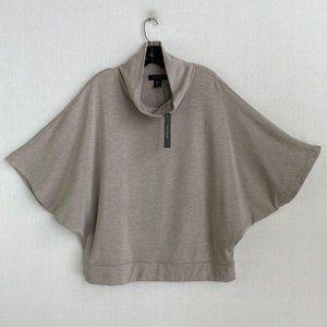 TAHARI Stone Taupe Turtleneck Sweater NWT